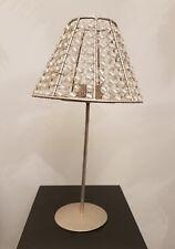 Teelichthalter Vintage Ethno Retro Style 70er Tischdekoration Metallfuß, Lampe