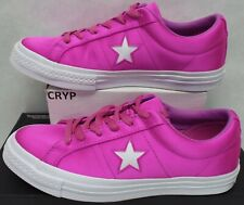 5fb75fa307c0 New Womens 9 Converse One Star OX Textile Hyper Magenta Shoes  70 161197C