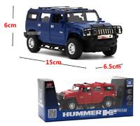 1:32 Hummer H2 Alloy Model Diecast Metal Cars Toys Children Pull Back Light Gift