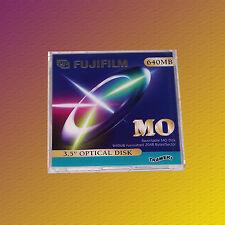 "Fuji 3,5"" MO Disk, 640 MB Formatted, Data Cartridge Datenkassette, NEU & OVP"