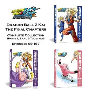 Dragon Ball Z Kai: The Final Chapters (DVD Region 4) Part 1, 2 & 3 Together New