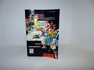 Chronotrigger Super Nintendo (SNES) Replacement Manual