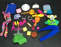 VTG Barbie Doll Accessories Shoes Clothes brushes Outfits Handbag Purse Perfume
