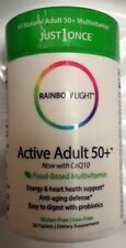 Rainbow Light Active Adult 50+ Multivitamin Supports Energy Nutrition 30 Tab NEW
