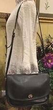 Vintage Coach 9790 Black Leather Crossbody City Bag Shoulder Bag