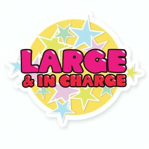 Latrice Drag Queen Drag Race Large And In Charge Vinyl Sticker