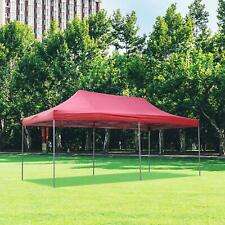 10ft x 20ft Pop Up Canopy Tent Gazebo for Party or Camping,Portable Wheeled Bag