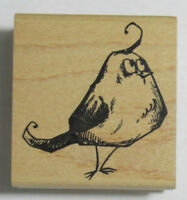 Stampers Anonymous Wood Mounted Rubber Stamp TIM HOLTZ GOOFY BIRD #3