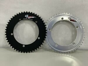 """Sugino Track Racing ZEN144 144mm x 5Bolts 1/2"""" x 1/8"""" Chainring (44T-58T)"""