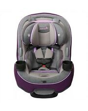 Safety 1st Grow and Go 3-in-1 Convertible Rear Forward-Facing Car Seat Sugarplum