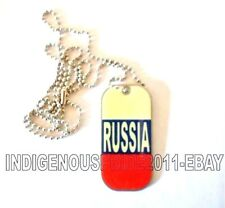 Russia/Russian Flag Tag/Necklace-Unisex necklace.Hurry b4 we sell out!Great gift