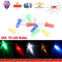 10X 509T T5 W3W W1.2W LED Car Gauge Dashboard Wedge Light Bulb Speedometer 24V