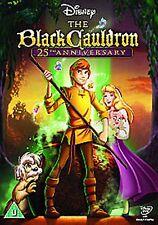 The Black Cauldron 2010 Disney Ted Berman, Richard Rich NEW SEALED UK R2 DVD