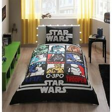 Star Wars Bedlinen 100% Cotton Kid Bedding Set Quilt/Duvet Cover Set Single Twin