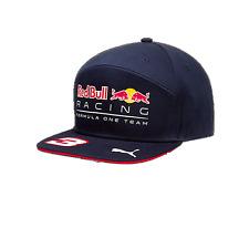 Red Bull Racing F1 Official Kids Daniel Ricciardo Flatbrim Cap - 2017