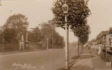 London Real Photo Postcard. Boston Rd, Brentford. Hounslow. Wood's Series. 1938