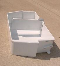 New listing Ge Hotpoint Kenmore Refrigerator White Door Bin Shelf-Wr71X2713 Ap2073116 307349