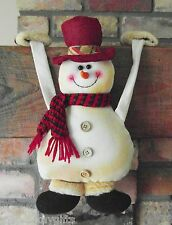 Job Lot Wholesale X 6 Novelty Christmas Snowman Decoration Ornament