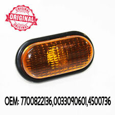 Amber Clear Side Indicator Repeater Lamp Signal Light For Renault Megane 99-02