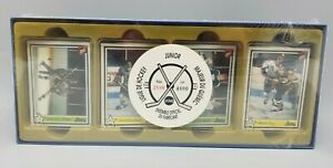 1990-91 7th Inning Sketch Quebec Major Junior Hockey League Factory Set FRENCH