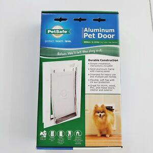 New PetSafe Wall Entry Aluminum Pet Door - Small Dog or Cat