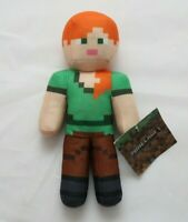 Minecraft Alex Small New With Tags 10 Inch Stuffed Animal Toy Factory Plush