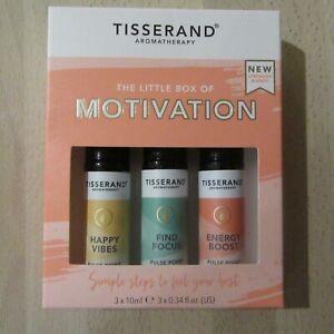 Tisserand The Little Box Of MOTIVATION - 3 X 10ML.