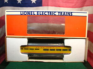 LIONEL 6-7210 UP UNION PACIFIC EXTRUDED ALUMINUM O PASSENGER DINING CAR 7210