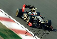 Vitaly PETROV SIGNED 12x8 Renault F1 Photo AFTAL Autograph COA Russian Driver