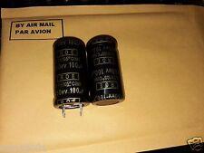 50pcs 100uf 450v 105C 22x40mm + 50PCS 47uf 450v 22x20mm NOS ROE EYH AUDIO CAPS