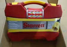 Starrett electricians hole saw kit