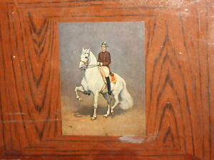 England Pimpernel Placemat Horse Rider