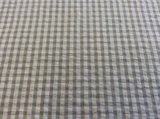 SILVER GRAY GINGHAM SEERSUCKER BY FABRIC FINDERS 60 INCH WIDE  BY THE YARD