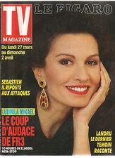 FIGARO TV 25/03/1989 ludmila mikael
