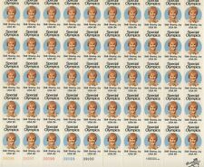 USA 1979 MNH FULL SHEET SPECIAL OLYMPICS SKILL, SHARING , JOY