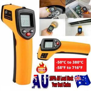Digital Thermometer Infrared Handheld Temperature Gun Un-Contact IR Laser Point