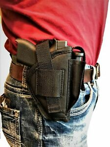 Hip Gun holster With Extra Magazine Pouch For Wather PPK & PPK/S