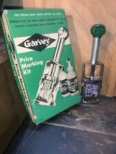 Vintage Garvey S-209 King Size Price Marker With Box.