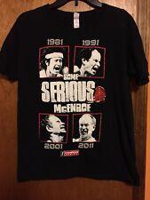 John McEnroe SOME SERIOUS McENROE Tennis T-shirt Size Medium
