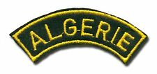 French Army Algerie (Algeria) shoulder title