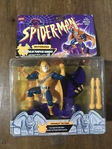 Spider-man Hobgoblin Pumpkin Bomber. 1995. Toy Biz. NEW Box Damage