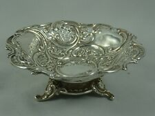 More details for pretty victorian silver sweet dish, 1897, 97gm