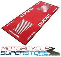 DUCATI MOTORCYCLE MOTORBIKE RED WORKSHOP HOME SHED STORAGE GARAGE MAT