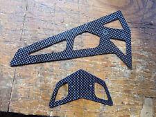 TREX 550 / 600 CARBON FIBRE TAIL FIN SET