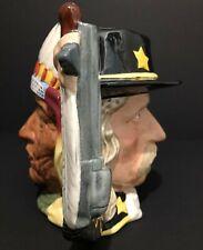 Royal Doulton 'Sitting Bull/Gen. Custer' Antagonists D6712 1984 Large Toby Jug