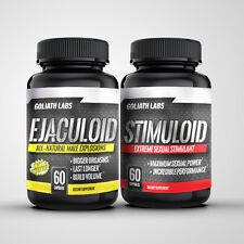 Goliathlabs Male Enhancement Ejaculoid Stimuloid Ultimate Sexual Stack 120 Caps