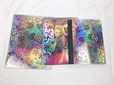 Jo Jo Siwa School Wide Ruled Notebook, Pocket Folder, Composition Book Set of 3