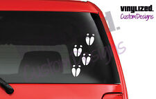Deer hunter decal, Track Marks hunting, white tail, window, Camouflage Camo