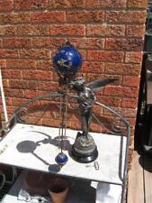 Ansonia Gloria Swinging Arm Mystery Clock & Statue