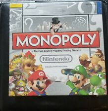 New Monopoly Nintendo Collector's Edition Board Game Pewter Tokens 2011 Complete